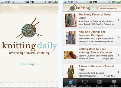 Knitting Apps – Feel the Yarn