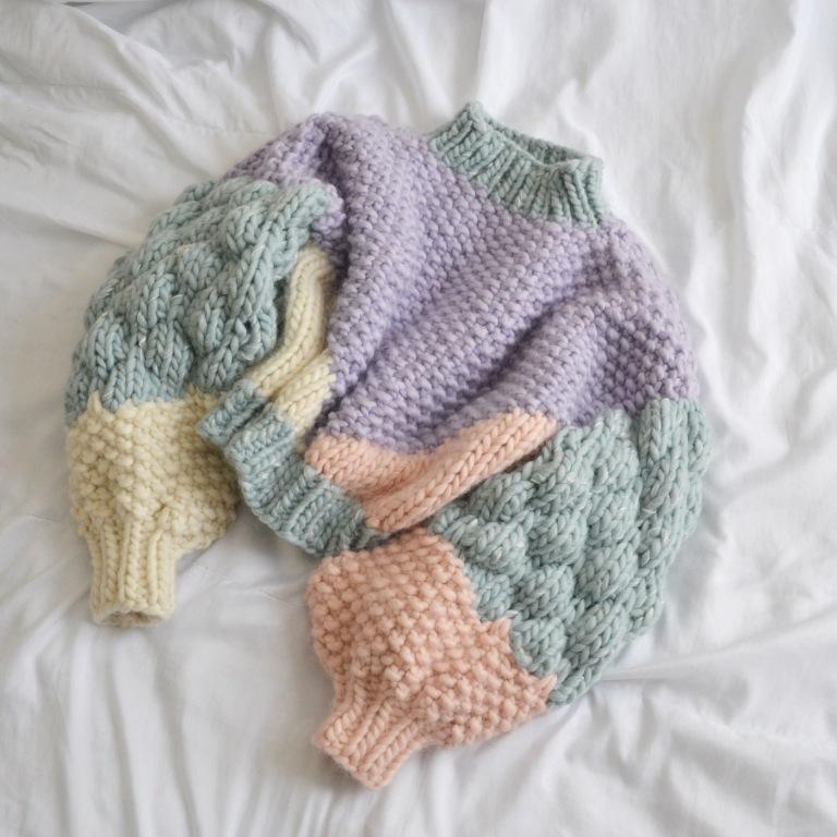 maglione di punta