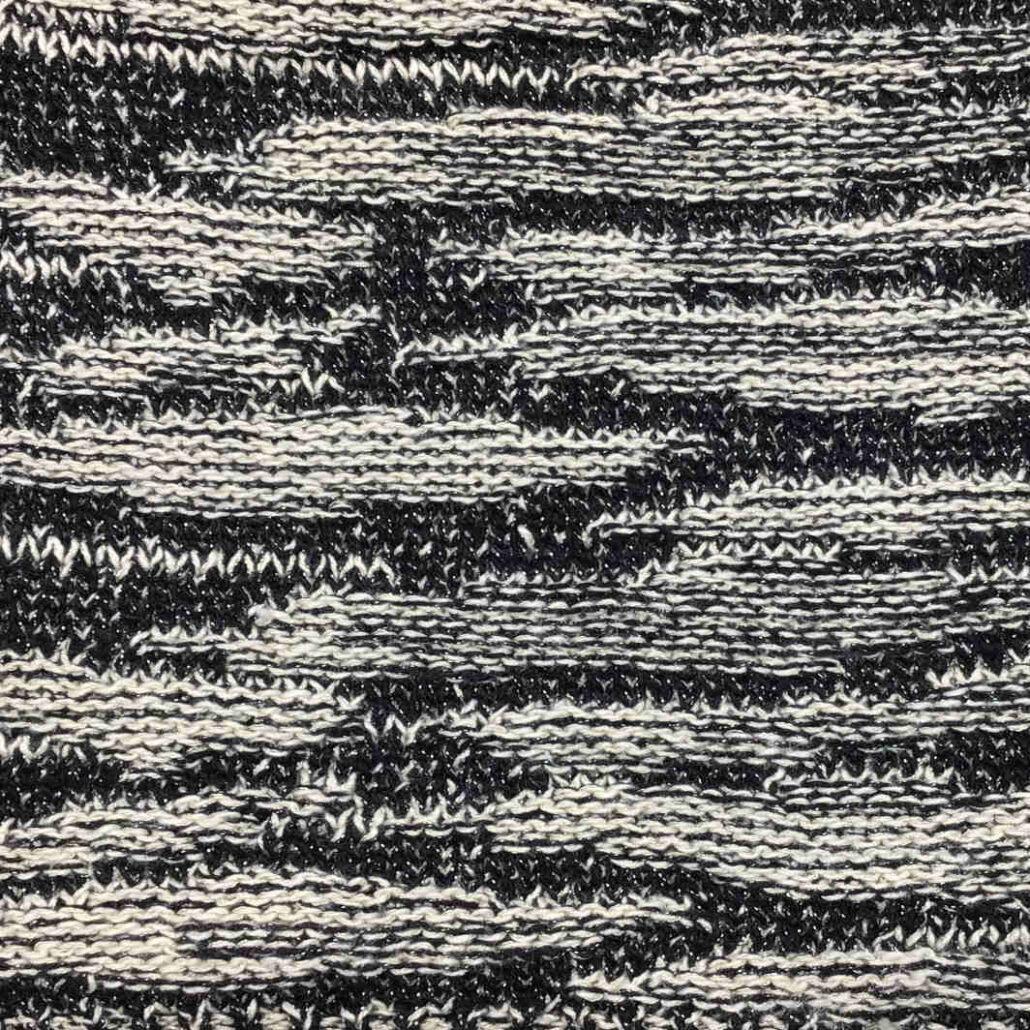 Brillino filato yarn cotone cotton recycled lurex stitch